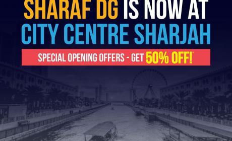 Special Offer at Sharaf DG, April 2018