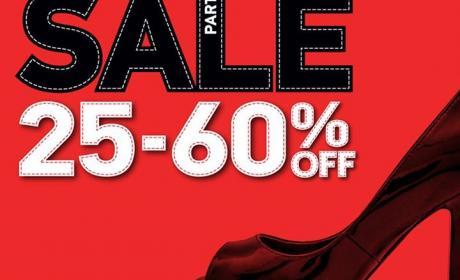 25% - 60% Sale at Shoe Mart, February 2015