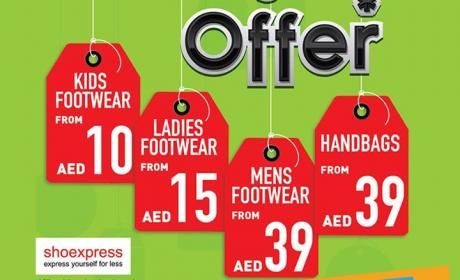 Special Offer at Shoexpress, April 2017
