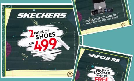 Special Offer at Skechers, August 2018