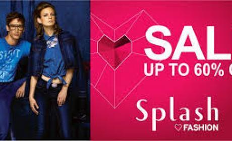 25% - 60% Sale at Splash, April 2018
