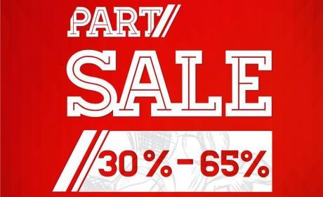30% - 65% Sale at Sports Market, May 2017