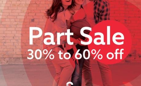 30% - 60% Sale at Stadium Sports, August 2018
