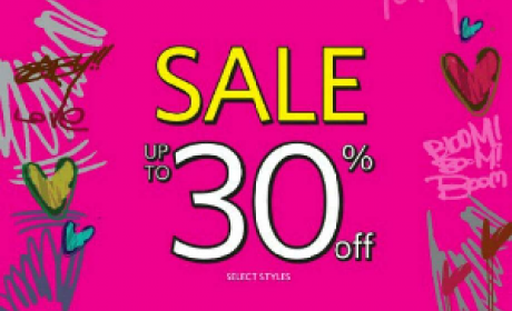 Up to 30% Sale at Steve Madden, May 2016