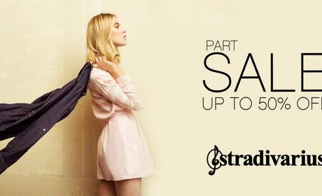 Up to 50% Sale at Stradivarius, August 2014