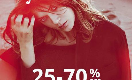 25% - 75% Sale at Stradivarius, February 2015