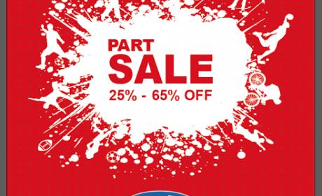 25% - 65% Sale at Sun & Sand Sports, June 2014