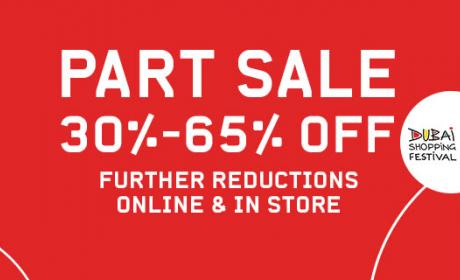 30% - 65% Sale at Sun & Sand Sports, January 2017