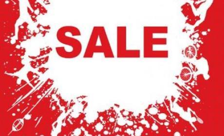 30% - 50% Sale at Sun & Sand Sports, September 2017