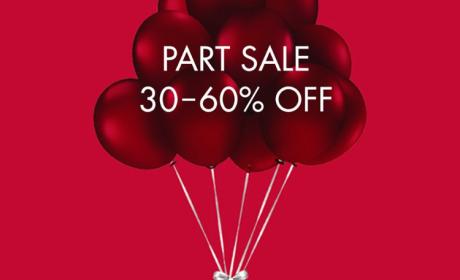 30% - 60% Sale at Swarovski, August 2018