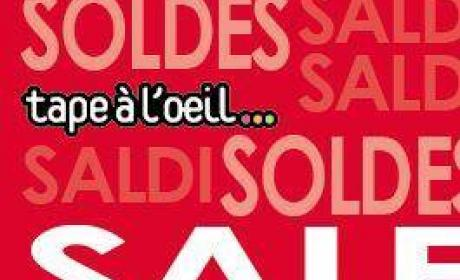 Up to 50% Sale at Tape a l'oeil, September 2014