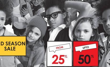 25% - 50% Sale at Tape a l'oeil, November 2014