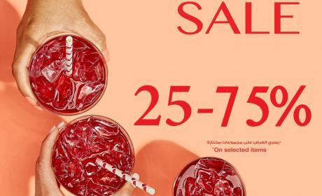 25% - 75% Sale at Teavana, September 2017