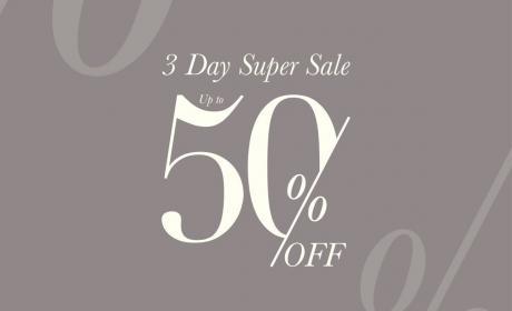 Up to 50% Sale at Ted Baker, November 2017