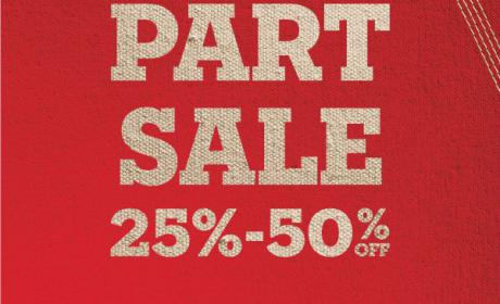 25% - 50% Sale at Timberland, August 2018