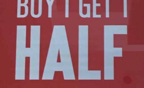 Buy 1 Get 1 half price Offer at Tommy Bahama, April 2017