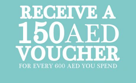 Spend 600 and receive a 150 AED Voucher Offer at Tommy Bahama, November 2014