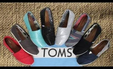 30% - 70% Sale at Toms Shoes, August 2017