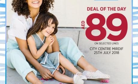 Special Offer at Toms Shoes, July 2018