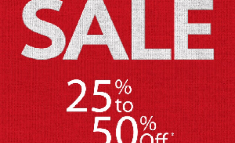 25% - 50% Sale at United Colors Of Benetton, May 2016