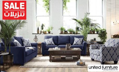 30% - 70% Sale at United Furniture, August 2018