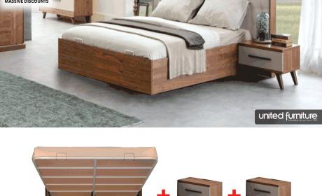 Special Offer at United Furniture, May 2018