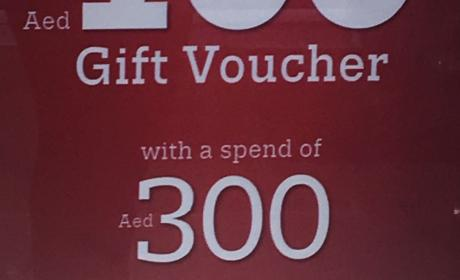 Spend 300 Get AED 100 gift voucher Offer at U.S. POLO ASSN, May 2017