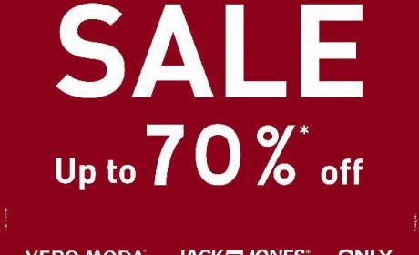 25% - 70% Sale at Vero Moda, February 2016