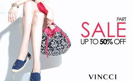 Up to 50% Sale at Vincci, June 2017