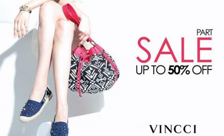 25% - 50% Sale at Vincci, August 2018