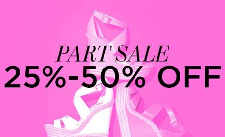 25% - 50% Sale at Vince Camuto, June 2016