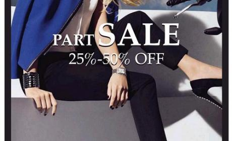 25% - 50% Sale at Vince Camuto, August 2016