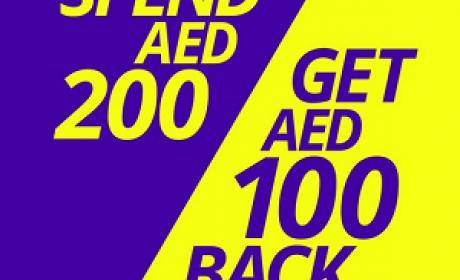 Spend 200 and get 100 AED voucher Offer at Virgin Megastore, July 2016