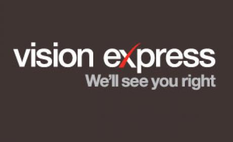 25% - 50% Sale at Vision Express, August 2018