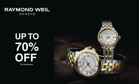 Up to 70% Sale at The Watch House, May 2017