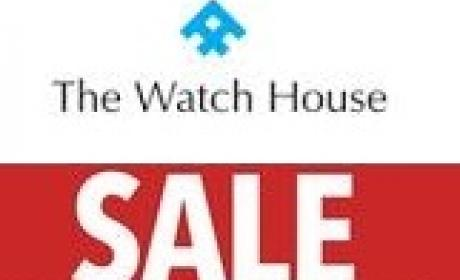 Up to 60% Sale at The Watch House, August 2017