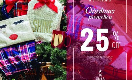Up to 25% Sale at Women'secret, December 2016