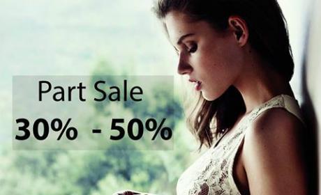 30% - 50% Sale at Women'secret, July 2017
