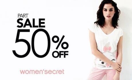 30% - 50% Sale at Women'secret, November 2017