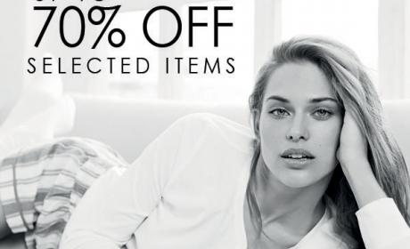 25% - 70% Sale at Women'secret, May 2018