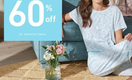 Up to 60% Sale at Women'secret, August 2018