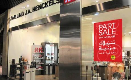 30% - 50% Sale at Zwilling J.A. Henckels, August 2014