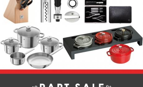 30% - 40% Sale at Zwilling J.A. Henckels, August 2017