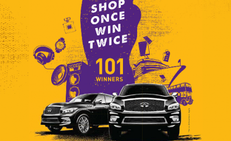 Spend 300 and win any daily prizes or QX80 Offer at Al Ghurair Centre, May 2016