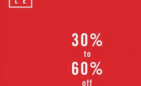30% - 60% Sale at Aldo, January 2017