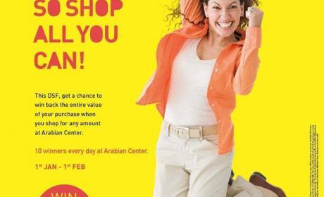 Special Offer at Arabian Center, February 2016