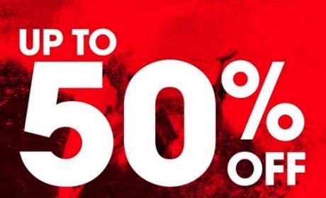 25% - 50% Sale at Billabong, July 2014