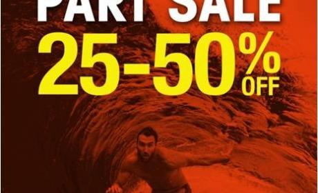 25% - 50% Sale at Billabong, February 2015