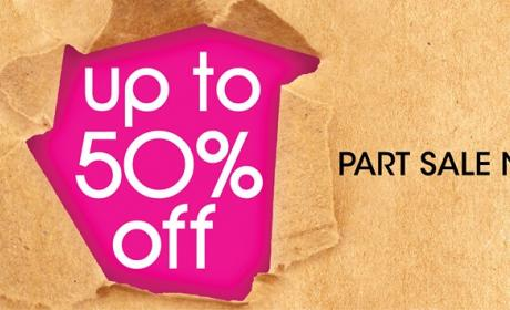 Up to 50% Sale at Bloomingdale's, February 2015