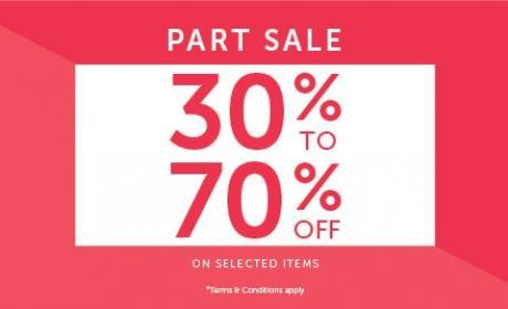 30% - 70% Sale at Carpisa, May 2017